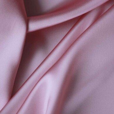 Atlasinis šilkas švelnios rožinės spalvos 5