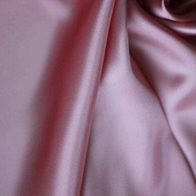Atlasinis šilkas švelnios rožinės spalvos 6