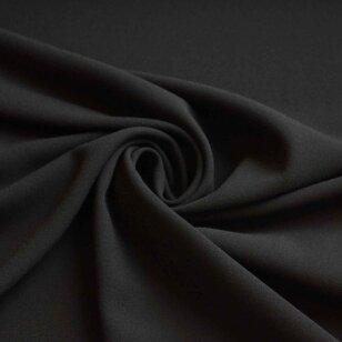 Krepinė dviguba viskozė juodos spalvos