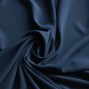 Krepinė dviguba viskozė vidurnakčio mėlynumo spalva