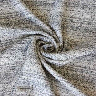 Lengvas, minkštas tvido audinys šviesiai pilkos spalvos