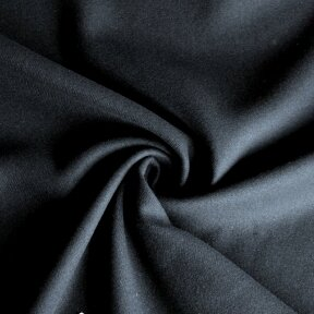 Tamsiai mėlyna (navy) vilna paltui