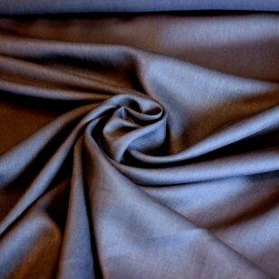 Tamsiai mėlynas švelnus tvirtumo turintis linas