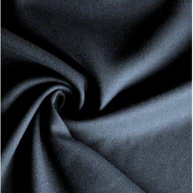 Tamsiai mėlyna (navy) vilna paltui 2