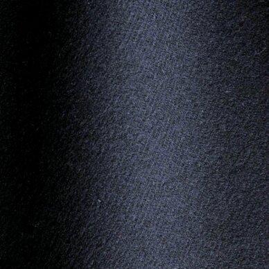 Tamsiai mėlyna (navy) vilna paltui 3