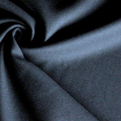Tamsiai mėlyna (navy) vilna paltui 4
