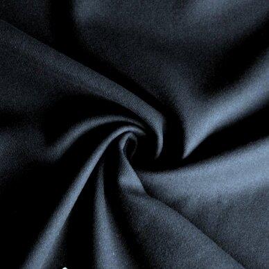 Tamsiai mėlyna (navy) vilna paltui 5