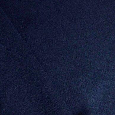 Tamsiai mėlyna (navy) vilna paltui 6